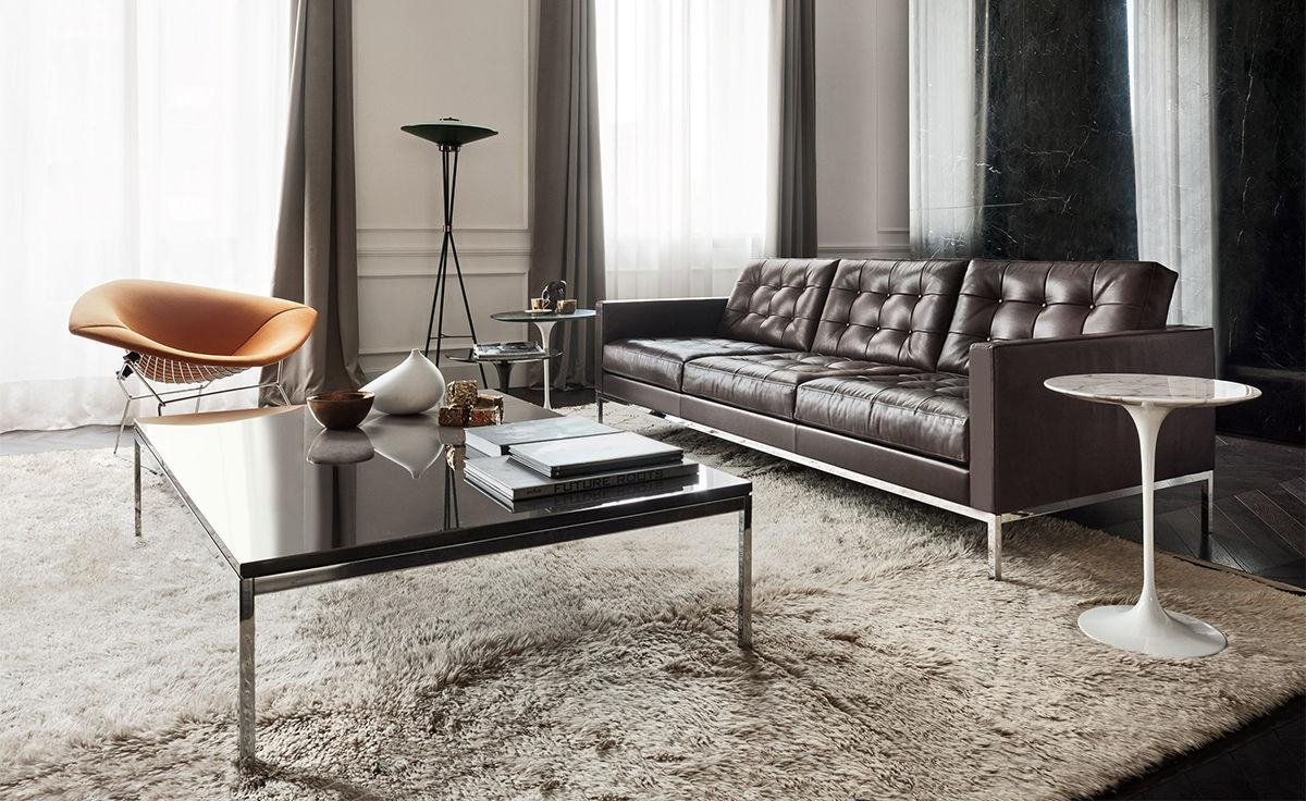 Florence Knoll Relaxed Sofa – Hivemodern Inside Florence Knoll Wood Legs Sofas (Image 10 of 20)