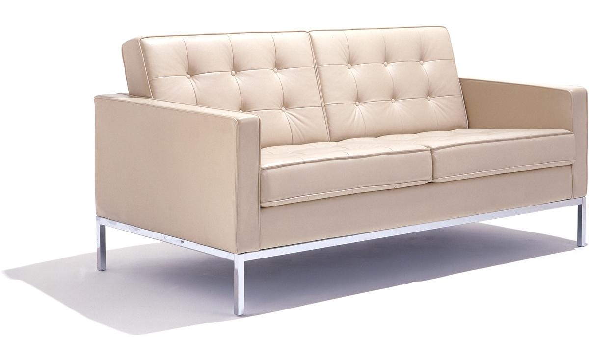 Florence Knoll Settee – Hivemodern Throughout Florence Knoll Leather Sofas (Image 5 of 20)