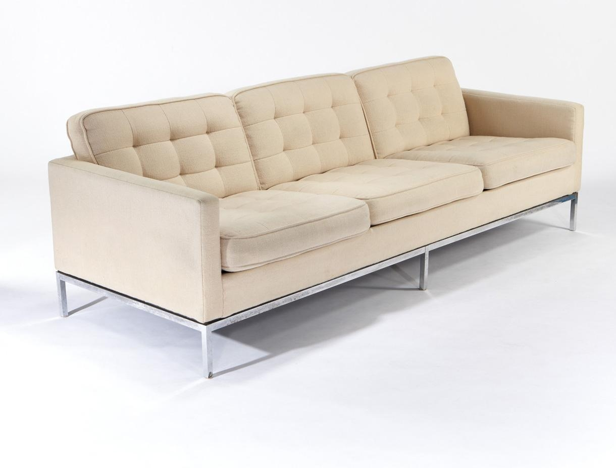 Florence Knoll Sofa – Bürostuhl Intended For Florence Knoll Sofas (View 19 of 20)