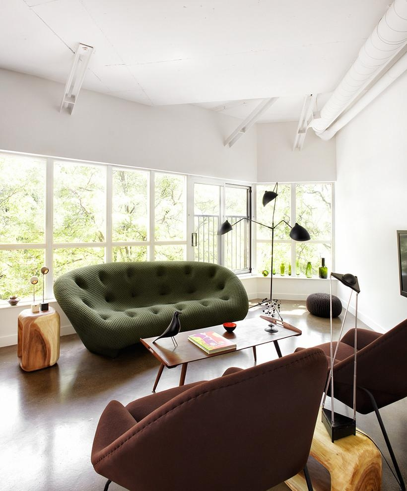 Florence Knoll Sofa Living Room Modern With Armchair Chair Curtain Within Florence Sofas And Loveseats (View 16 of 20)