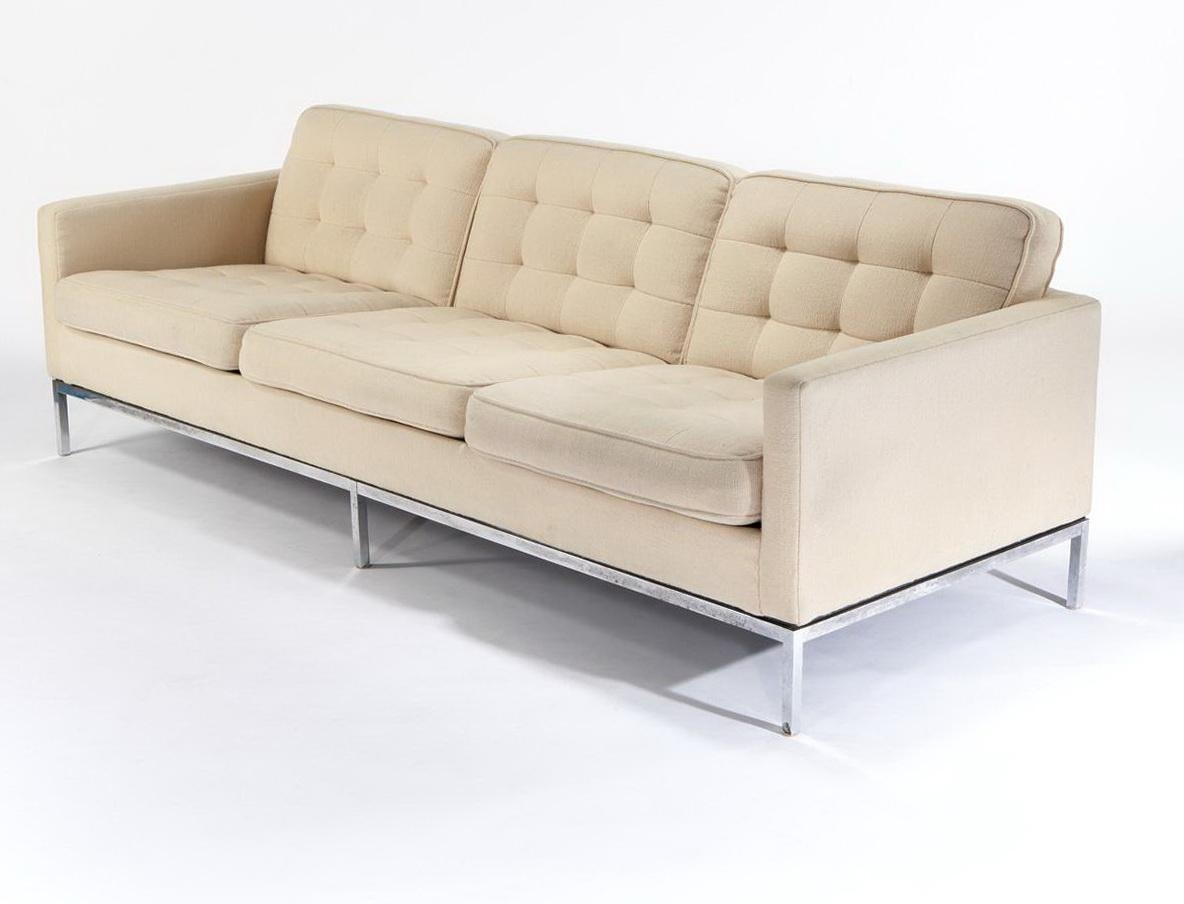 Florence Knoll Sofa With 3 Seater | Porch & Living Room With Regard To Florence Knoll 3 Seater Sofas (View 10 of 20)