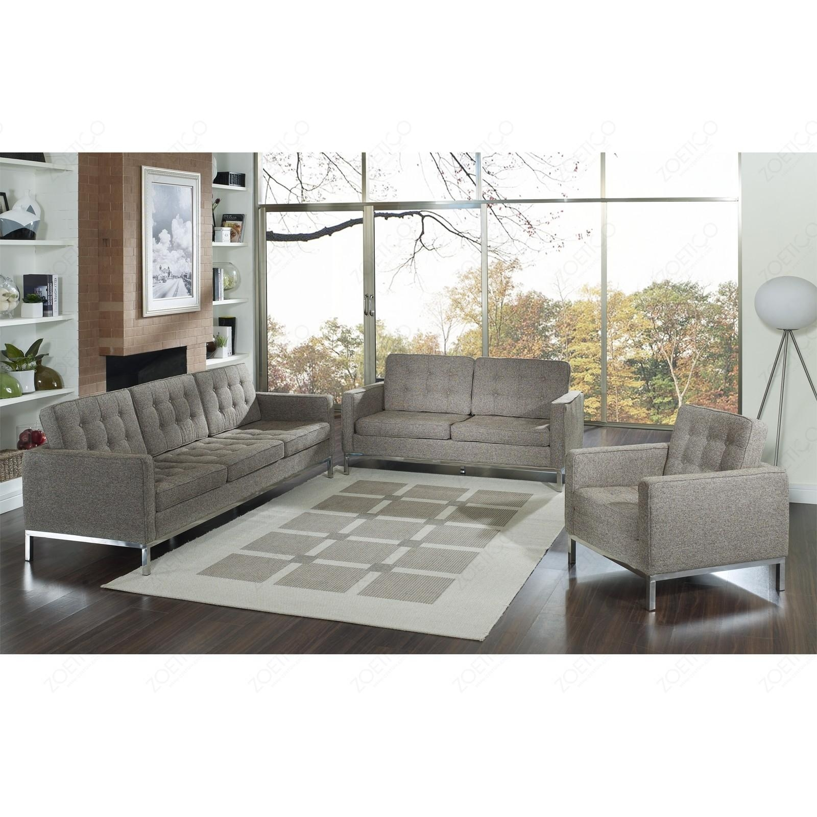 Florence Knoll Sofa With Regard To Florence Knoll Fabric Sofas (View 4 of 20)
