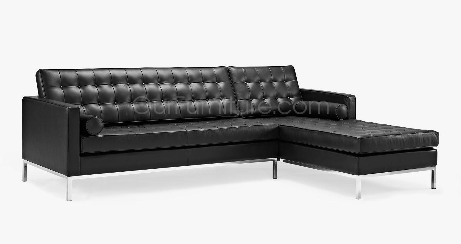 Florence Knoll Style Corner Sofa In Florence Knoll Style Sofas (View 12 of 20)
