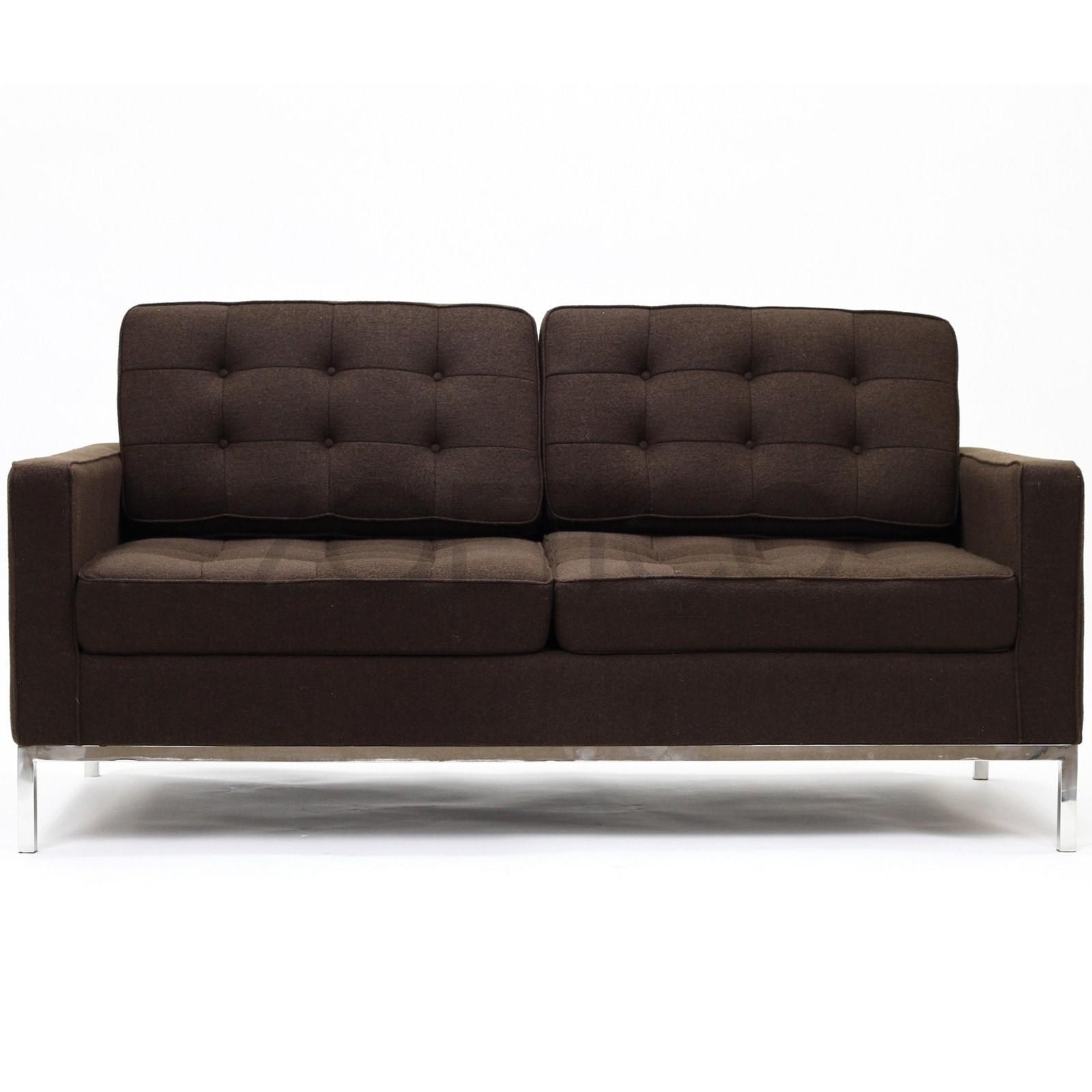 Florence Knoll Style Sofa – Leather Sectional Sofa With Regard To Florence Knoll Style Sofas (View 15 of 20)