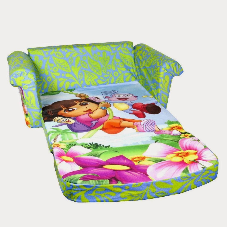 Foam Sofa Flip Out In Flip Open Kids Sofas (Image 5 of 20)