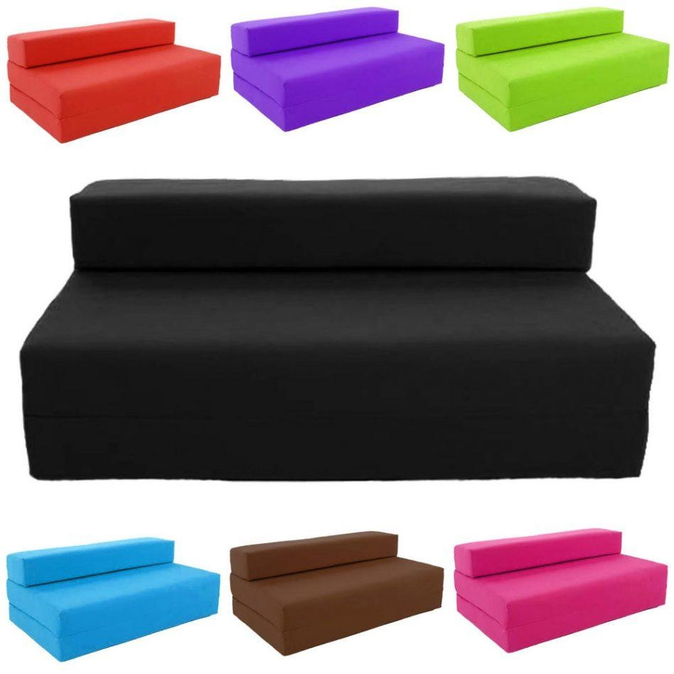 Foldable Bed Sofa – Leather Sectional Sofa Within Collapsible Sofas (Image 15 of 20)