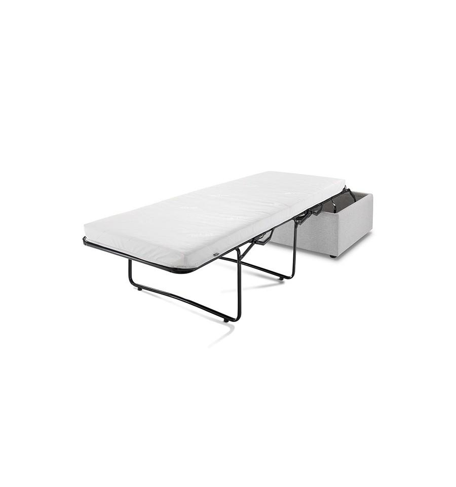 Footstool Pouffe Sofa Folding Bed (Image 5 of 20)