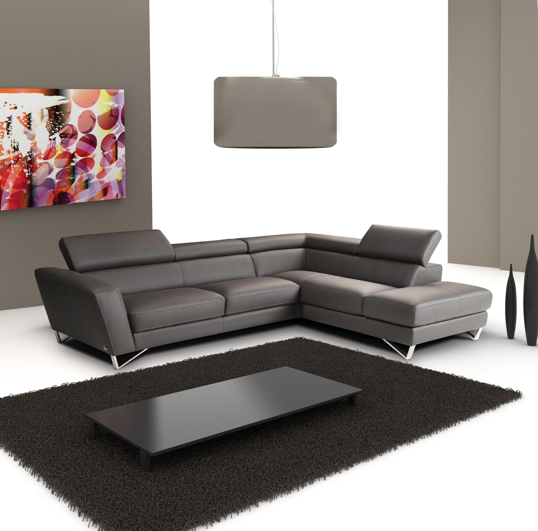 For A Leather Sectional Sofa With A Mix Of Modern And Classic Within Small Scale Leather Sectional Sofas (Image 5 of 20)