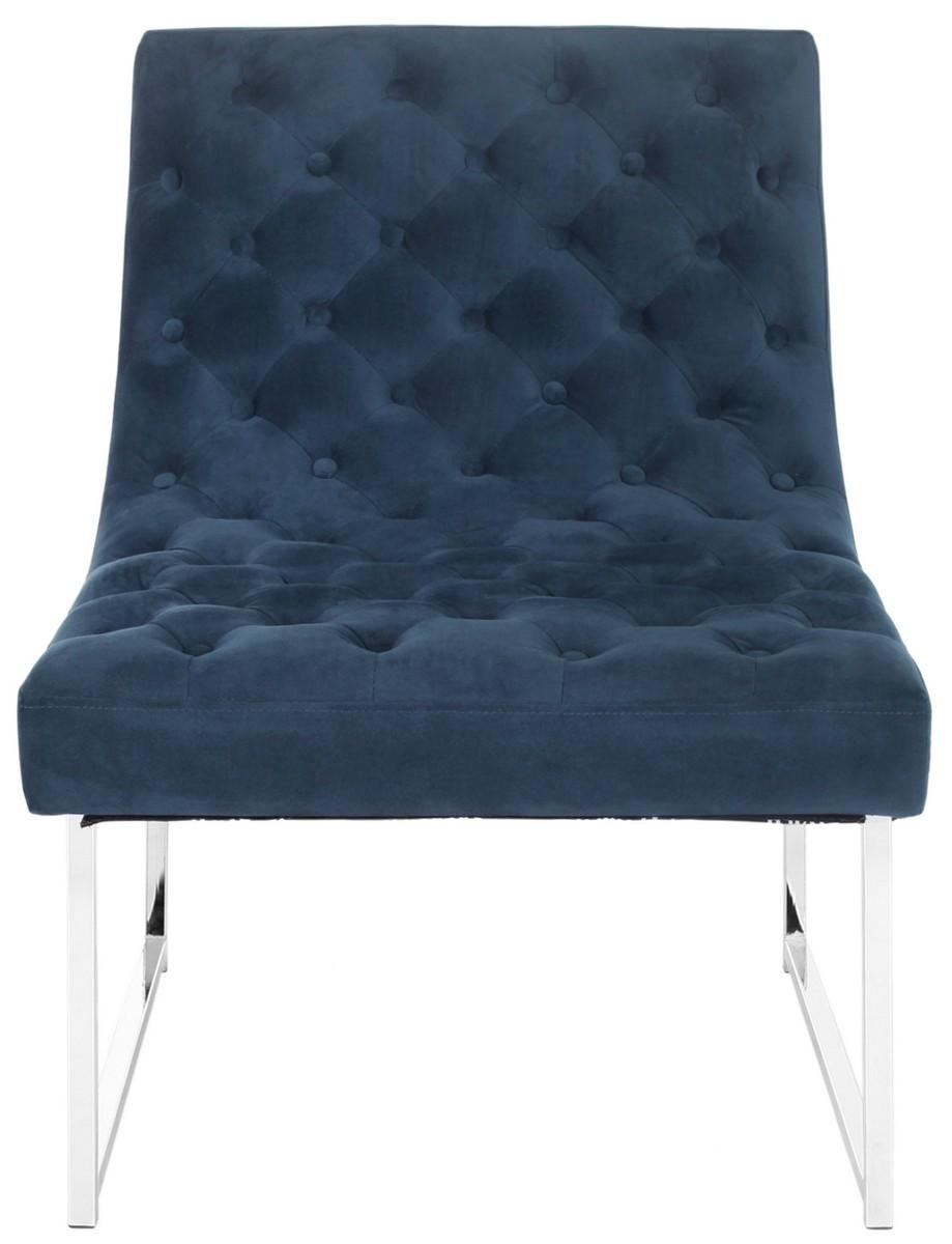 Fox6283B Accent Chairs – Furnituresafavieh For Accent Sofa Chairs (Image 11 of 20)