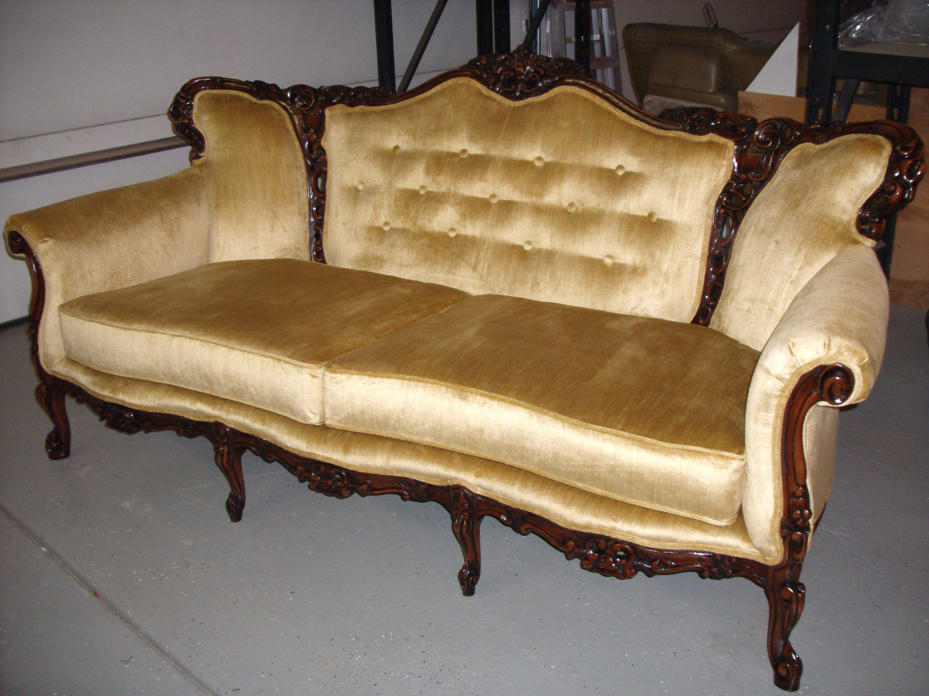 French Antique Furniture Glorious Antiques Pinterest Vintage Sofa Throughout Vintage Sofa Styles (View 14 of 20)