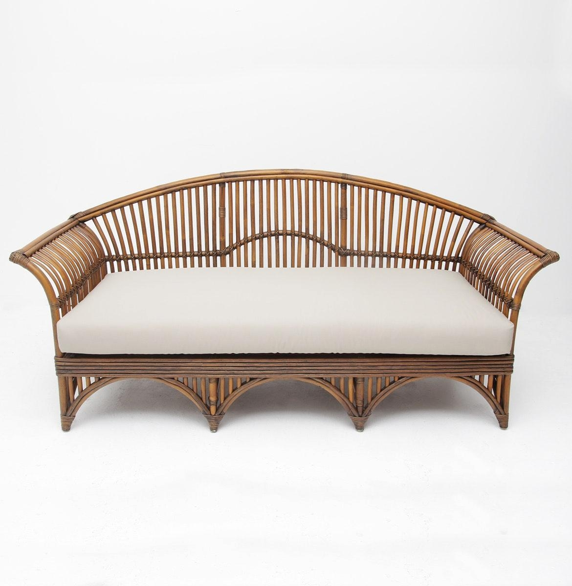 French Cane Sofa Daybed Vintage French Picture On Excellent Cane Pertaining To Cane Sofas (View 15 of 20)