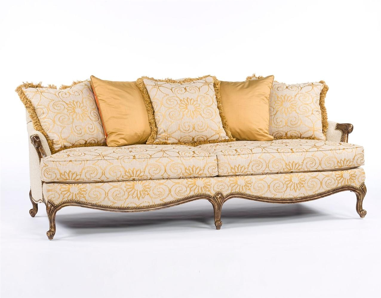 French Sofa Styles French Sofa Provincial Tufted Upholstered Louis Thesofa