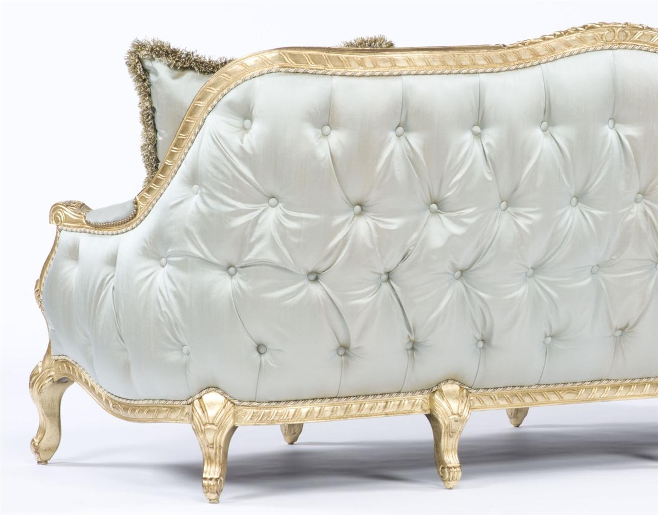 French Style Sofa. Tufted Luxury Furniture (Image 9 of 20)