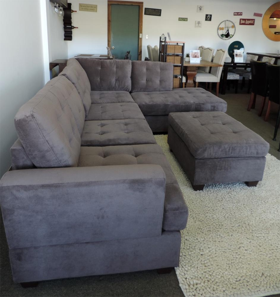 Fresh Ideas Gray Sectional Sofa | Home Decor & Furniture Regarding Charcoal Gray Sectional Sofas (Image 4 of 20)