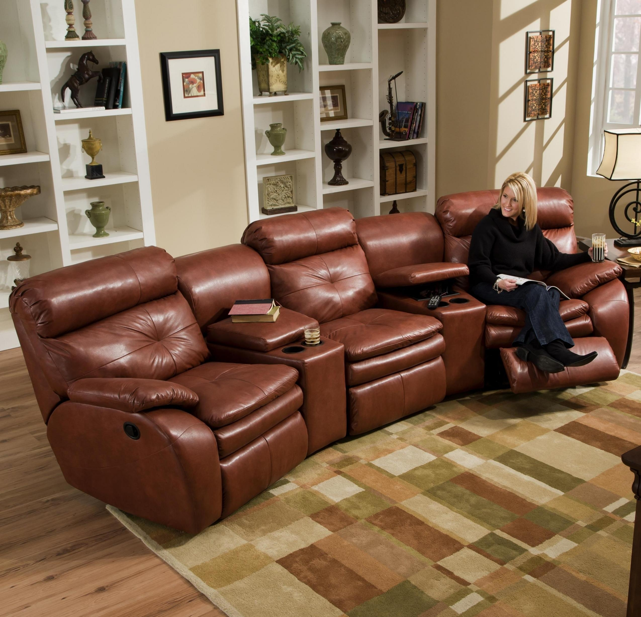 Fresh Sectional Sofas With Recliners And Cup Holders | Sofa Ideas Intended For Sofas With Cup Holders (View 7 of 20)