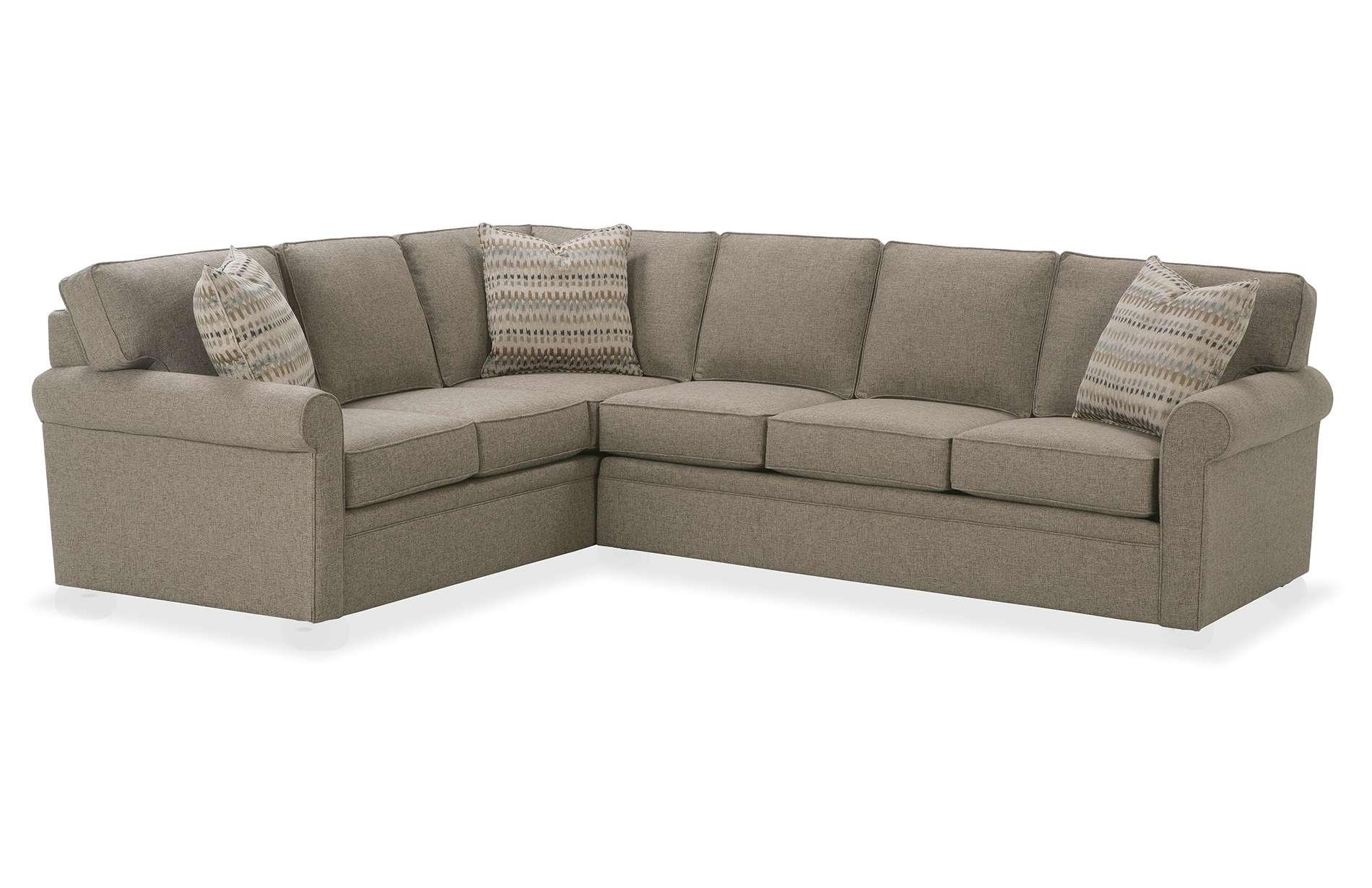 Fresh Small Scale Sectional Sofa With Chaise 73 On Faux Leather With Small Scale Sectional Sofas (Image 5 of 20)