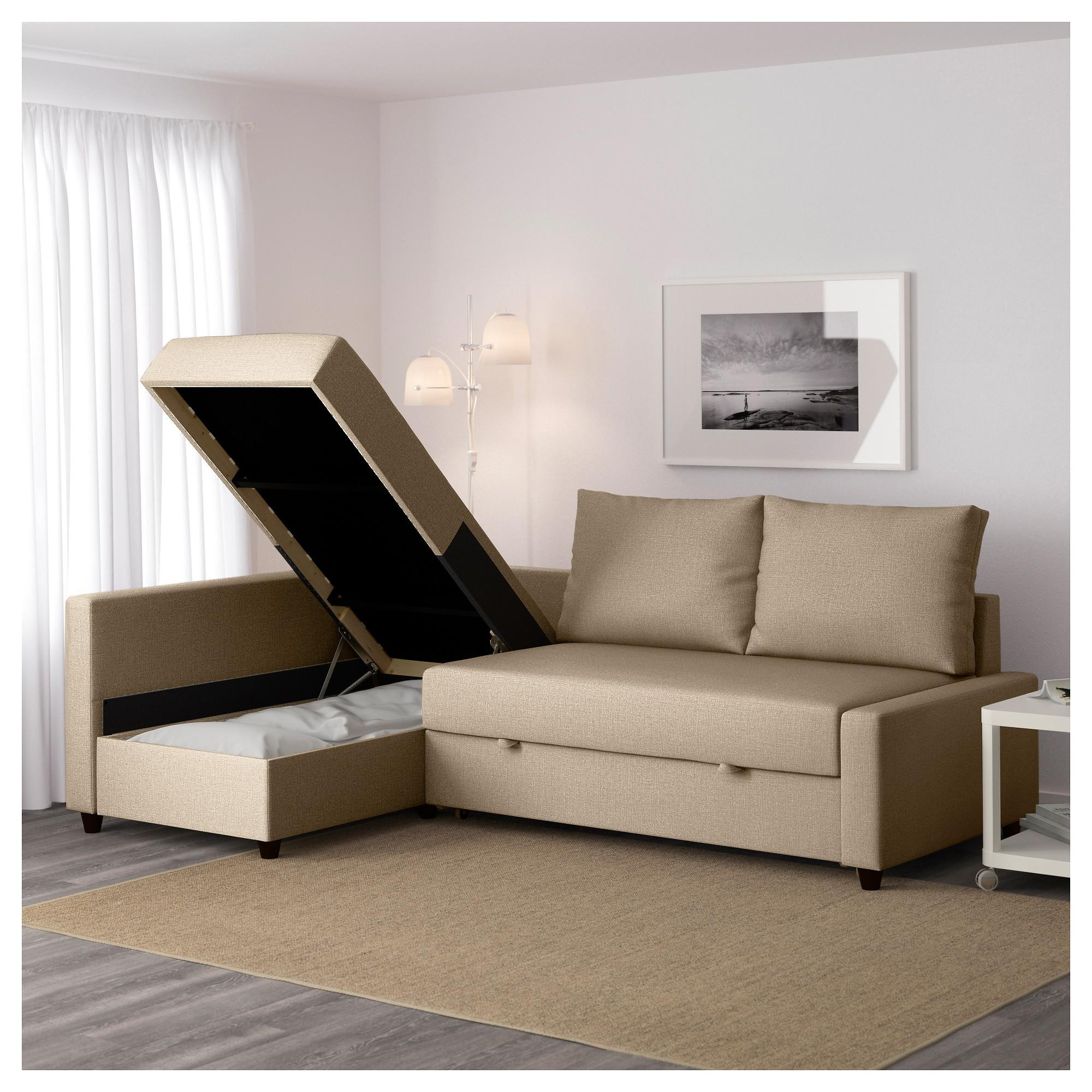 Friheten Sleeper Sectional,3 Seat W/storage – Skiftebo Dark Gray Within Ikea Sectional Sofa Bed (Image 5 of 20)