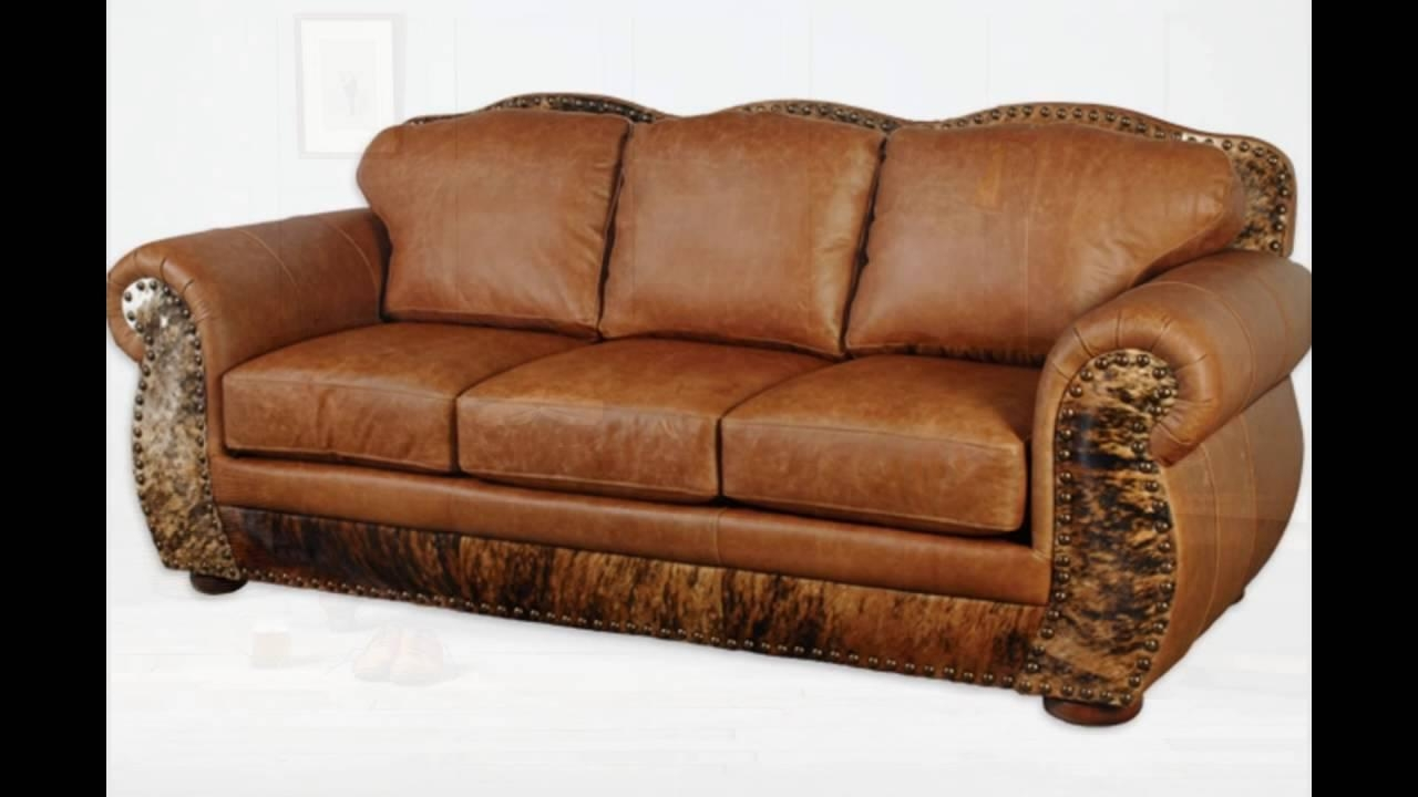 Full Grain Leather Sofa – Youtube Within Full Grain Leather Sofas (View 2 of 20)