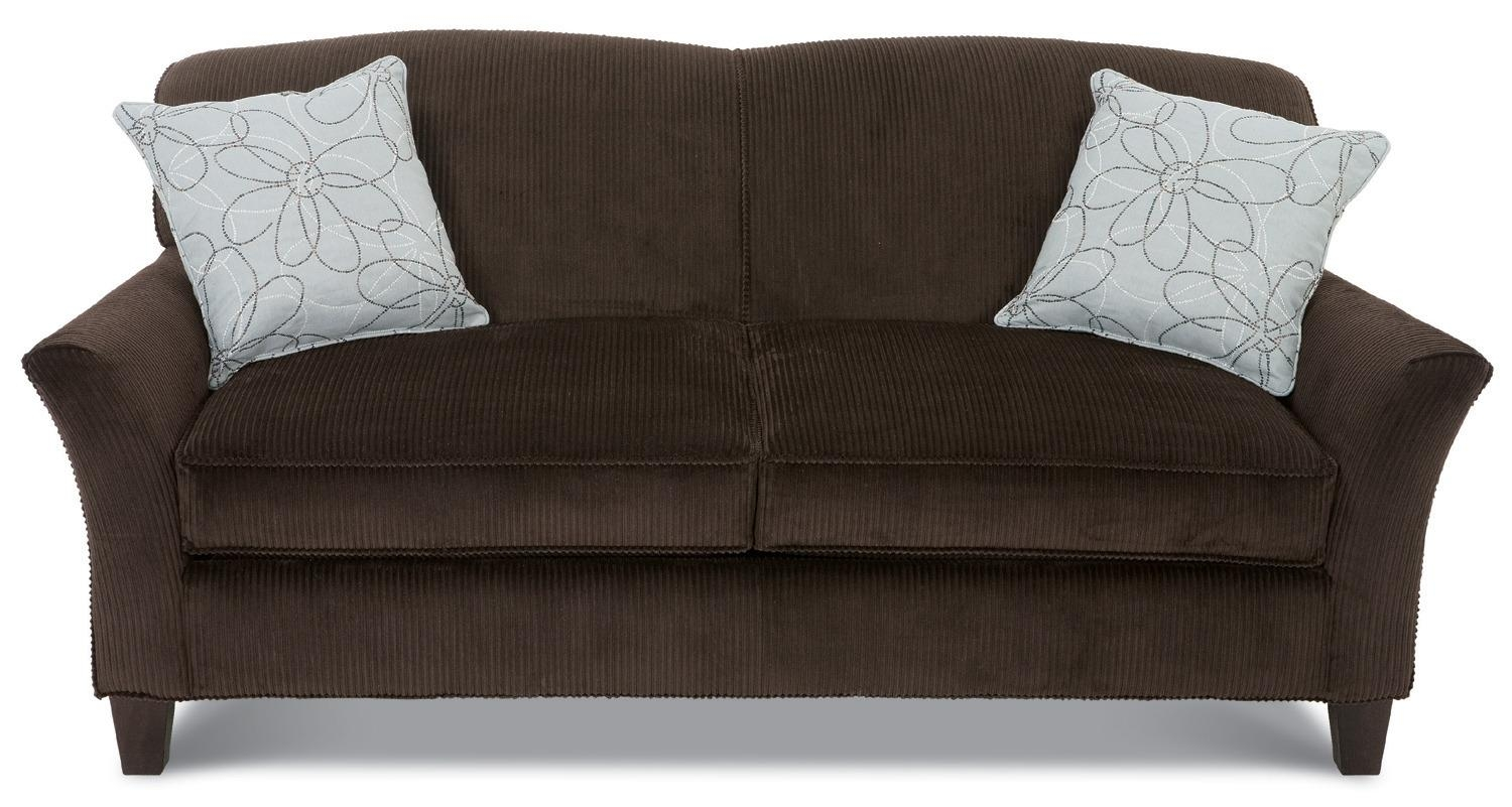 Full Size Sleeper Sofa :mypire Regarding Chenille Sleeper Sofas (Image 13 of 20)