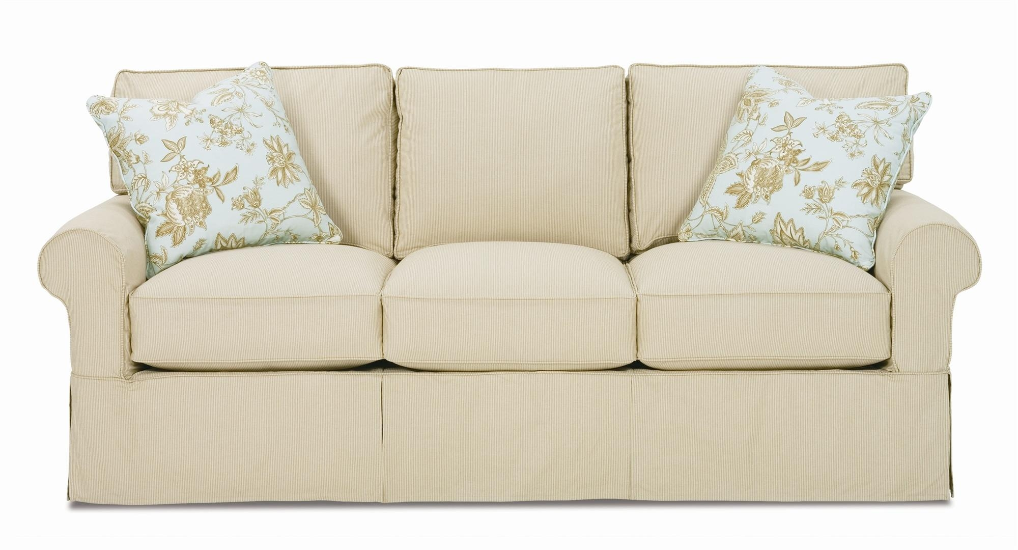 Furniture: 2 Piece Sofa Slipcover | Shabby Chic Sofa Slipcovers Regarding Shabby Chic Sofa Slipcovers (Image 15 of 20)