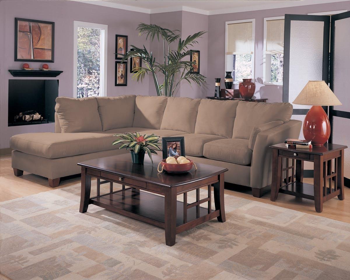 Furniture: 3 Piece Sectional Sofa Microfiber   Sectional With Large Microfiber Sectional (View 20 of 20)