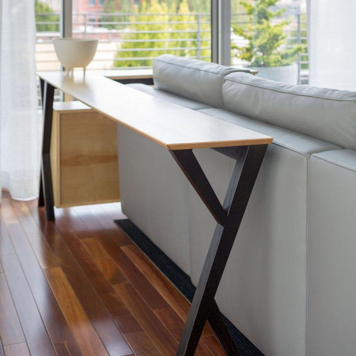 Furniture: 72 Inch Console Table | Skinny Console Table | Sofa Within Slim Sofa Tables (Image 9 of 20)