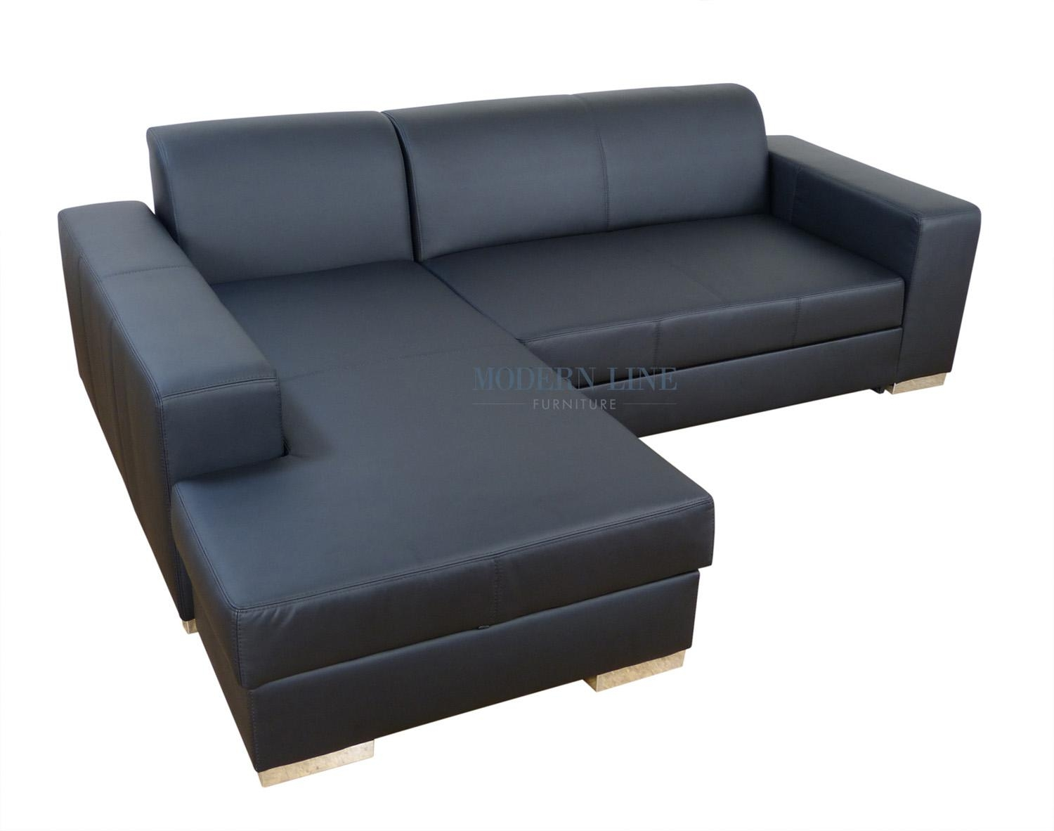 Furniture: Amusing Furniture Decorated L Shaped Sleeper Sofa For Throughout Black Leather Convertible Sofas (Image 10 of 20)