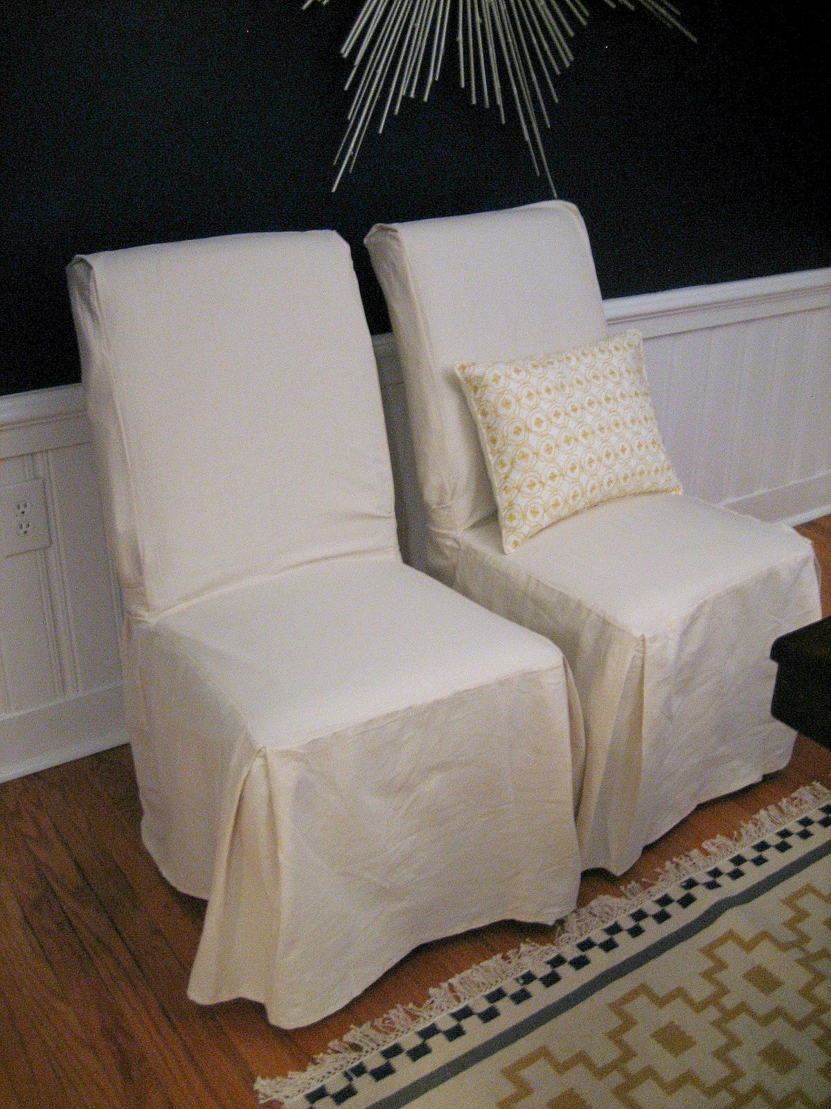 Furniture: Armless Chair Slipcover | Slipcovered Chairs For Armless Slipcovers (Image 8 of 20)