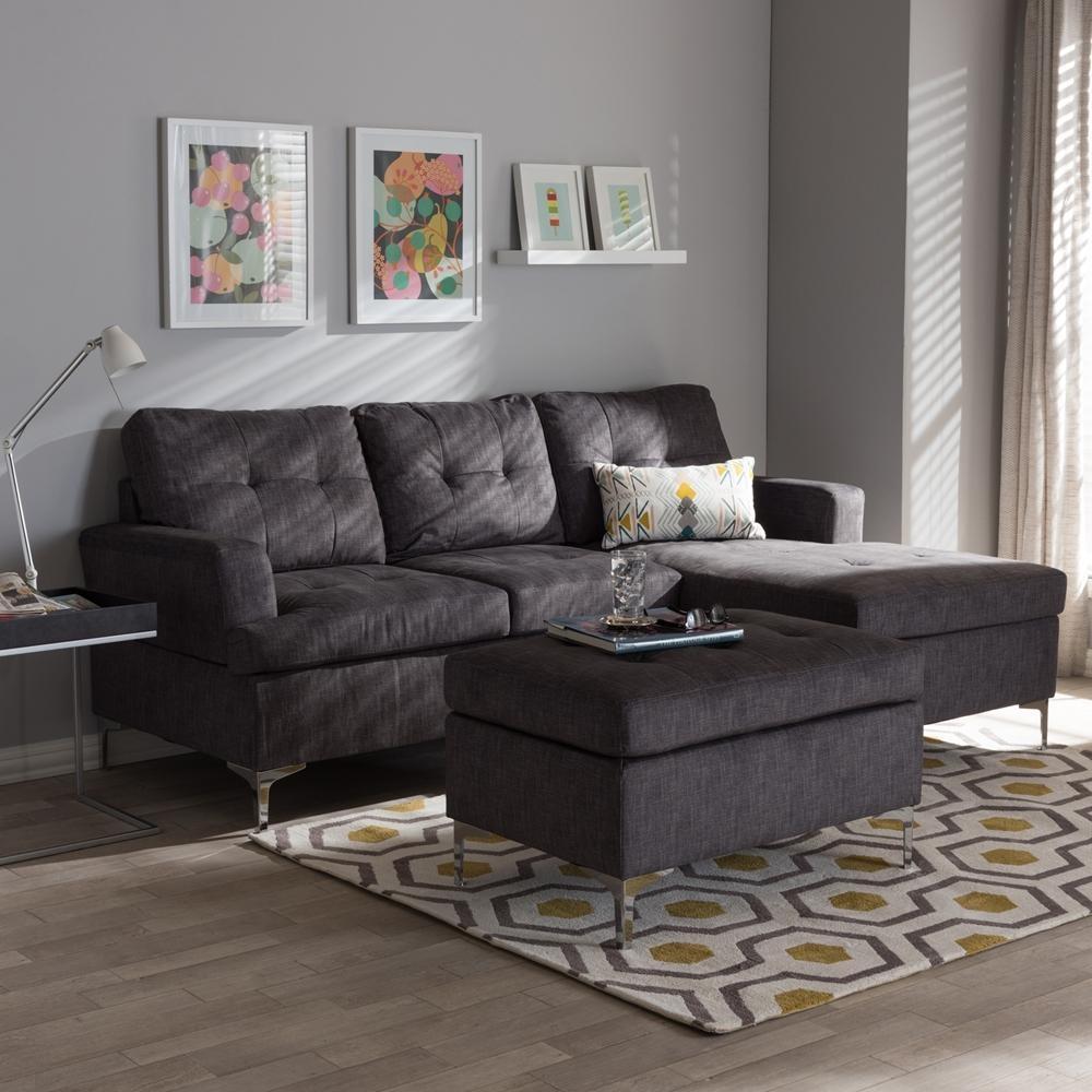 Furniture: Baxton Studio Sectional | Braxton Sectional | Dobson Pertaining To Braxton Sectional Sofas (View 18 of 20)