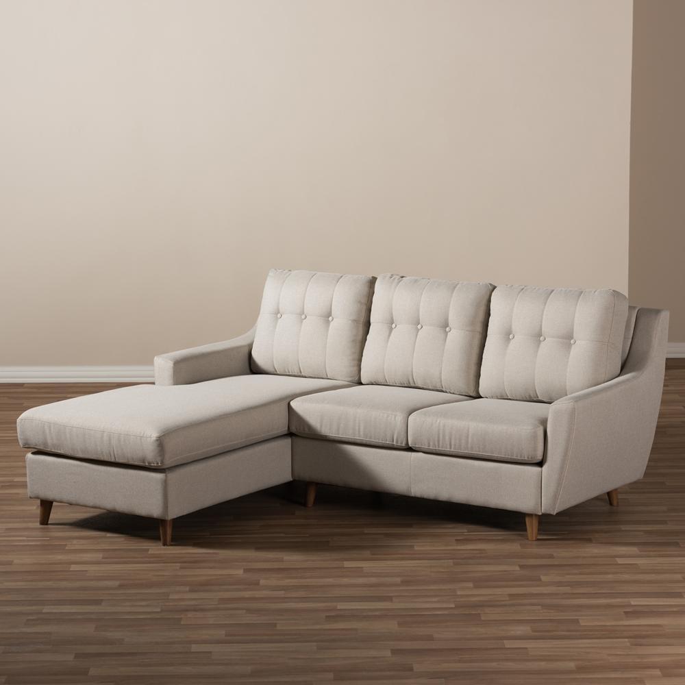 Furniture: Baxton Studio Sectional | Braxton Sectional Sofa Intended For Braxton Sectional Sofa (View 8 of 15)