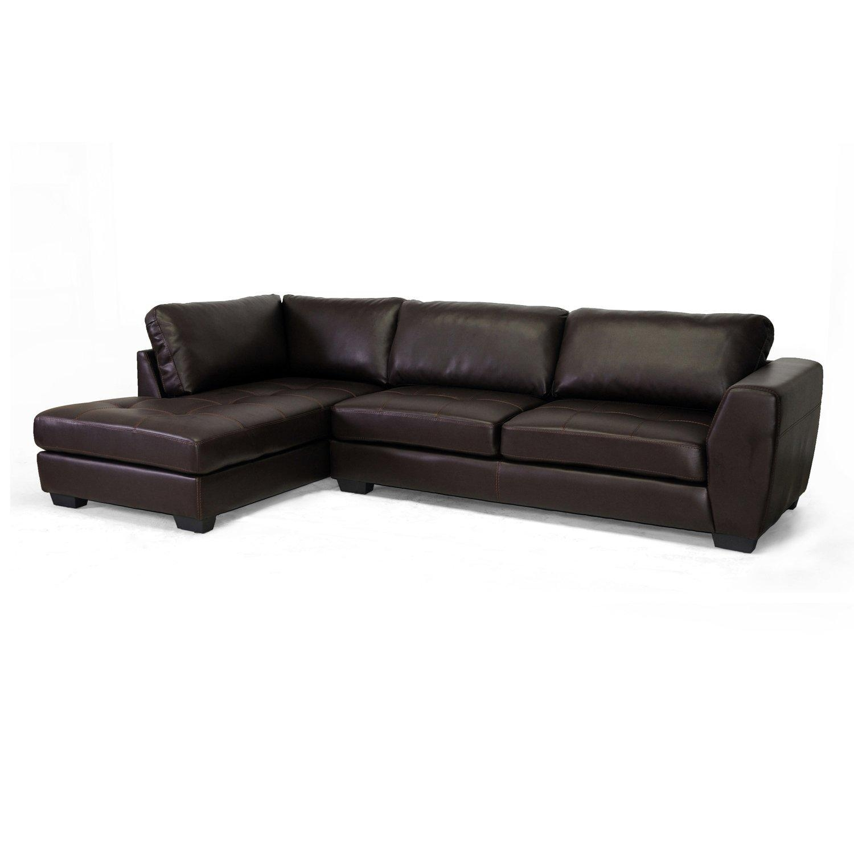Furniture: Baxton Studio Sectional | Braxton Sectional Sofa With Regard To Braxton Sectional Sofa (View 7 of 15)