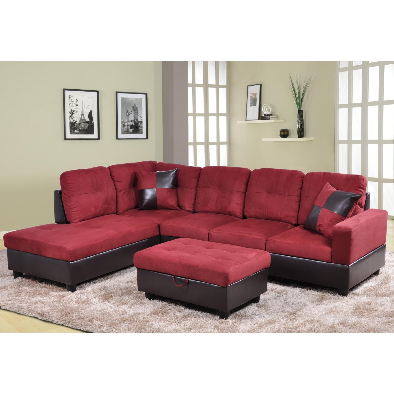 Furniture: Beautiful Sectional Sofas Cheap For Living Room Pertaining To Cheap Red Sofas (Image 6 of 20)