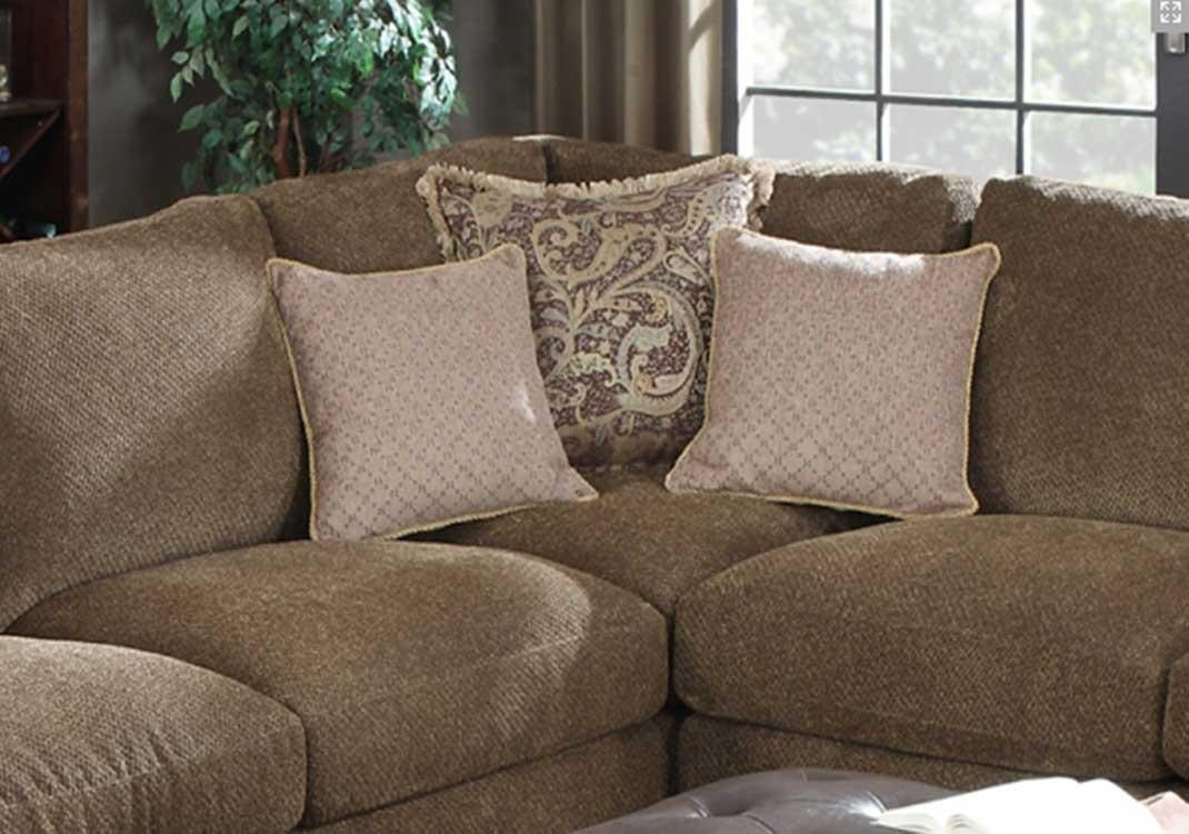 Furniture: Beige And Gray Havertys Furniture Sectionals For Inside Chenille Sectionals (View 3 of 15)