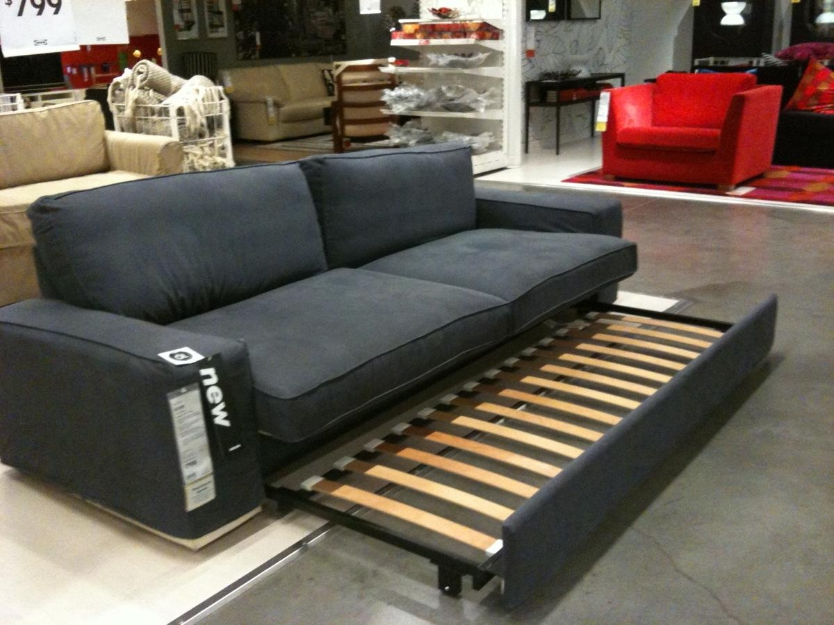 Furniture: Best Choice Solsta Sofa Bed For Your Living Room Inside Pull Out Sofa Chairs (View 4 of 20)