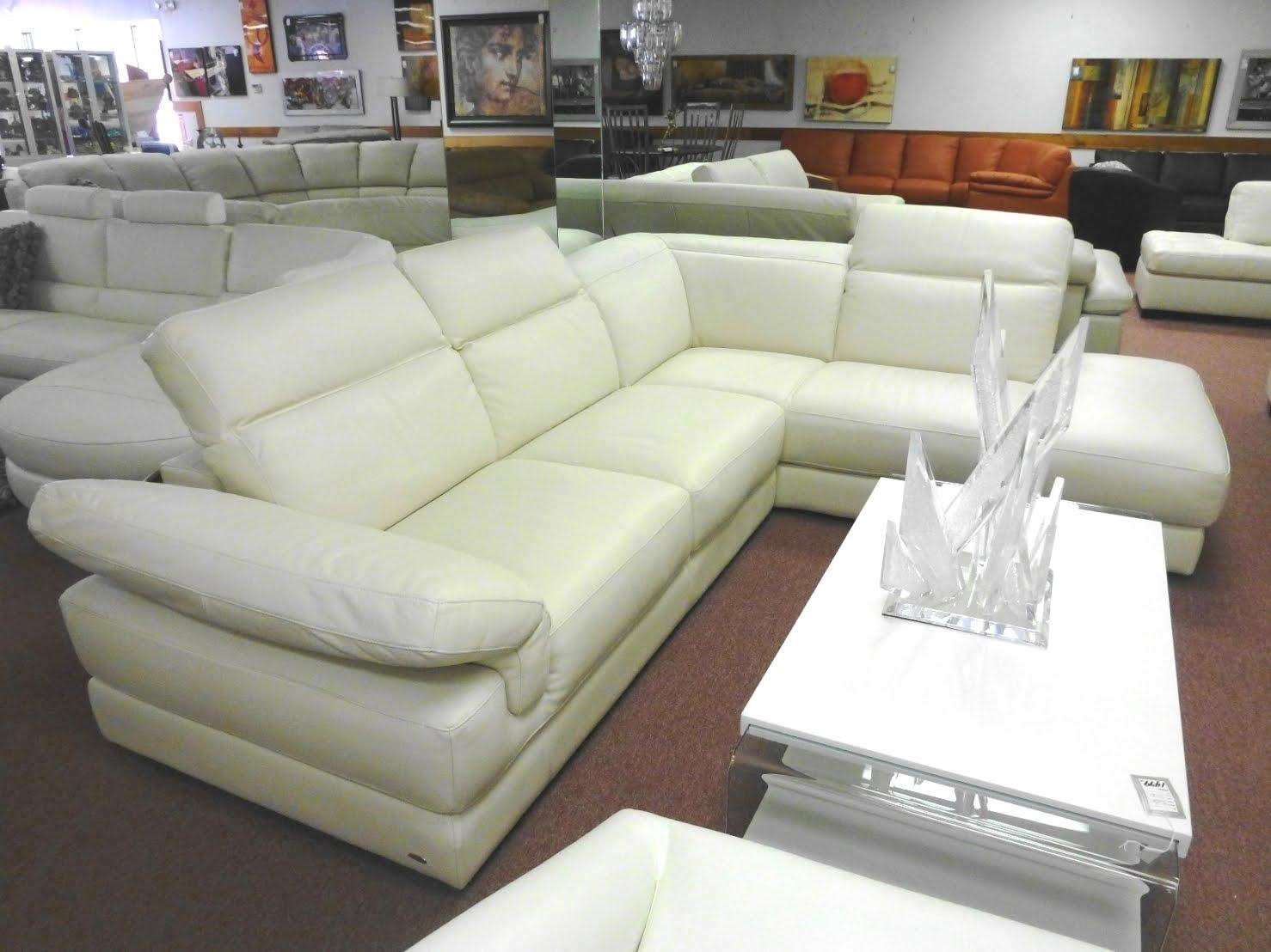 Furniture: Best Gift For Mother Day With Cool Italsofa — Nadabike With Natuzzi Microfiber Sectional Sofas (View 5 of 20)