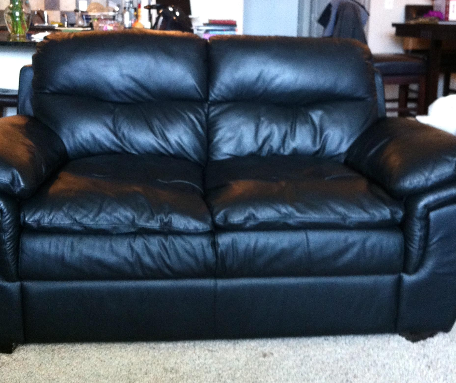 Furniture Black Leather Couches For Sale | Newmediahub With Black Leather Sofas And Loveseats (Image 14 of 20)