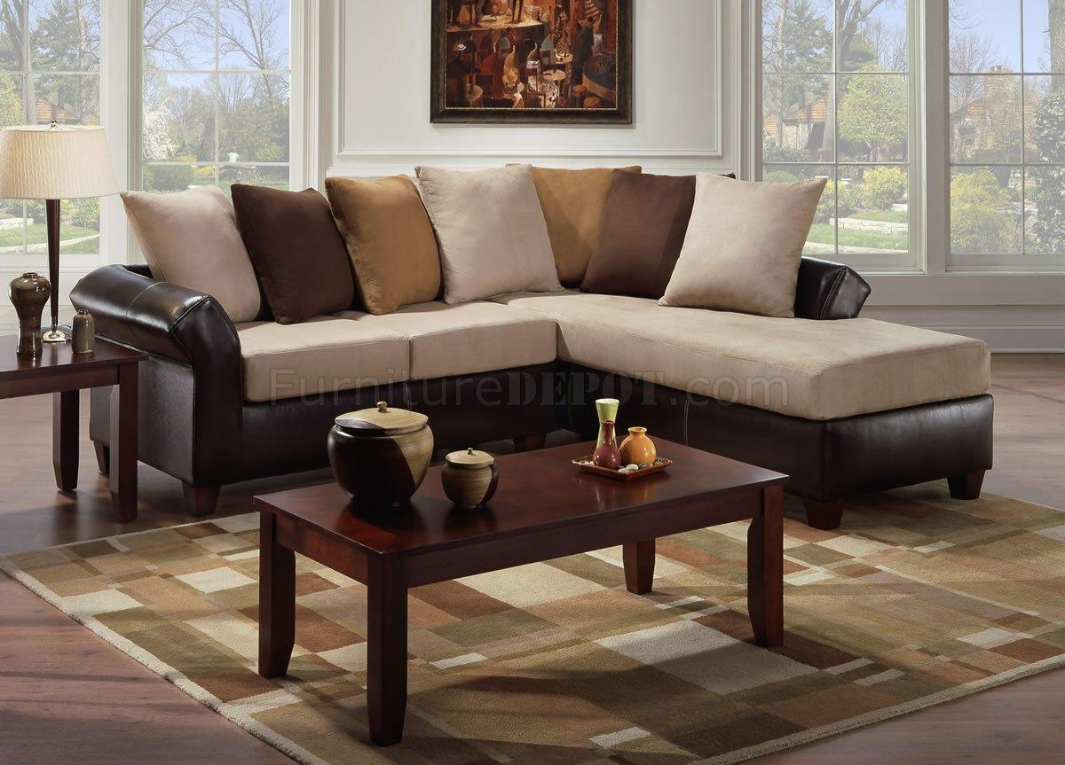 Furniture: Black Microfiber Sectionals | Suede Sectional Sofa Intended For Suede Sectionals (Image 4 of 20)