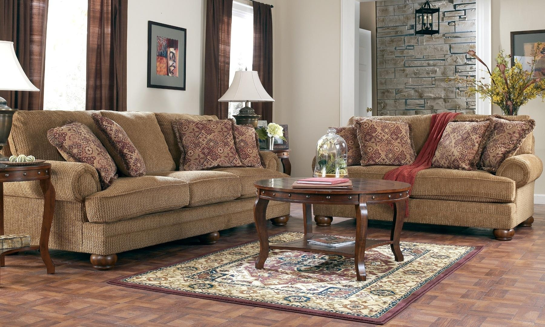 Furniture: Broyhill Sofas | Broyhill Allison Sofa | Broyhill Pertaining To Broyhill Mckinney Sofas (Image 15 of 20)