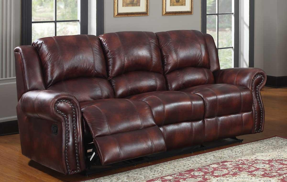 Furniture: Burgundy Leather Couch | Burgundy Sofa | Burgundy In Burgundy Leather Sofa Sets (Image 11 of 20)