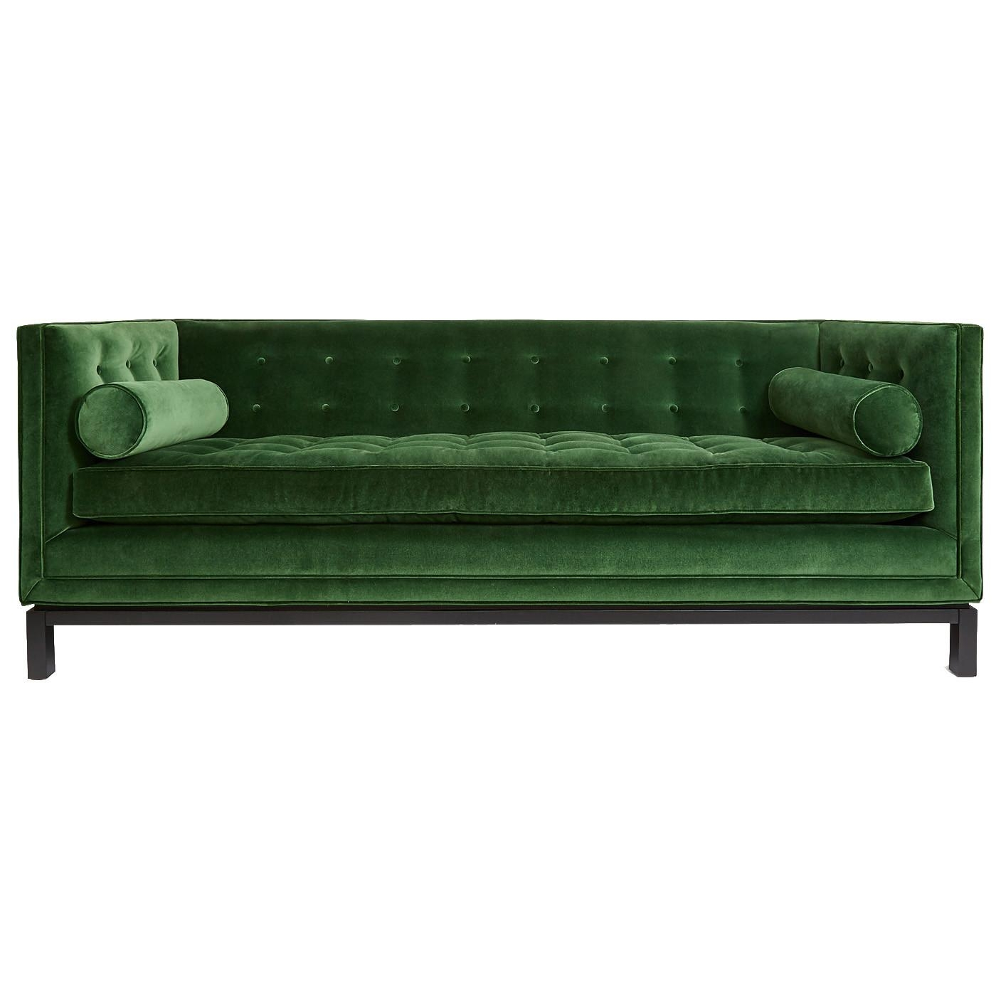 Furniture: Burgundy Sleeper Sofa | Ava Velvet Tufted Sleeper Sofa Pertaining To Ava Velvet Tufted Sleeper Sofas (Image 4 of 20)