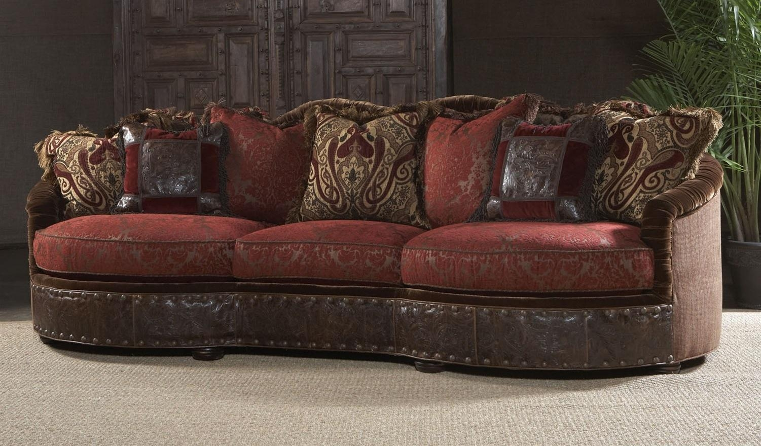 Furniture: Burgundy Sofa | Sectional Sofa Amazon | Leather Sofa Pertaining To Burgundy Leather Sofa Sets (View 16 of 20)