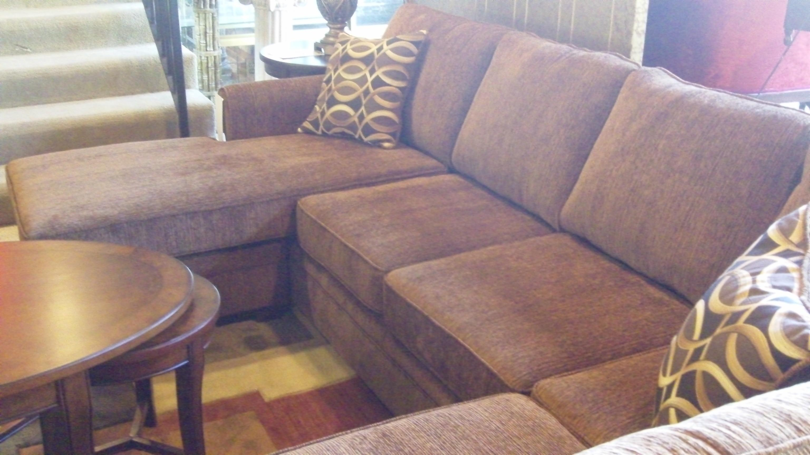Furniture: Charming Cheap Sectional Sofas In Brown With Cushion Pertaining To Cheap Sofas Houston (Image 7 of 20)