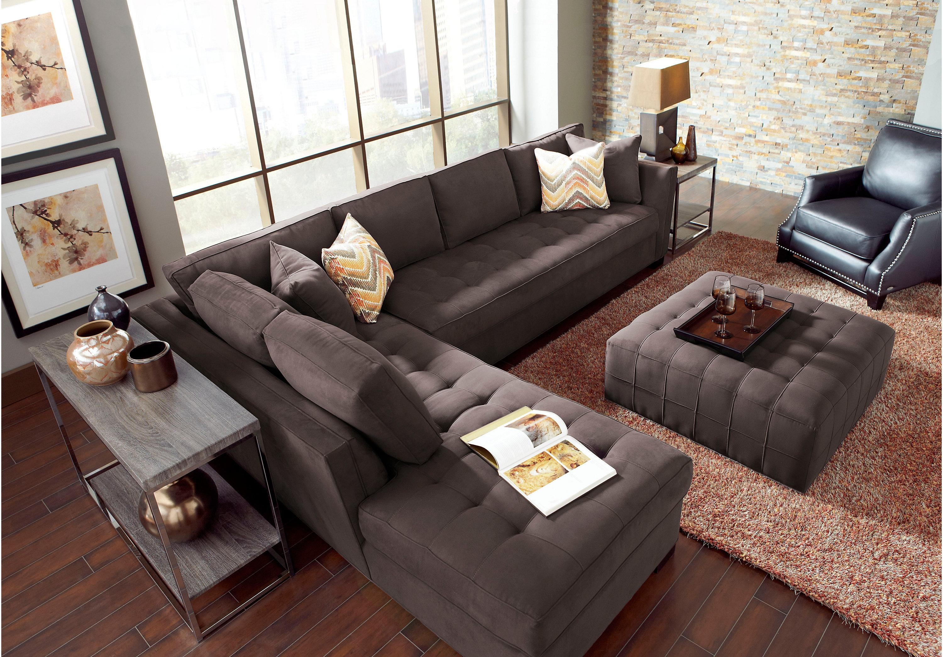 Furniture: Cindy Crawford Sectional Sofas | Cindy Crawford Leather Pertaining To Cindy Crawford Sectional Sofas (Image 13 of 20)