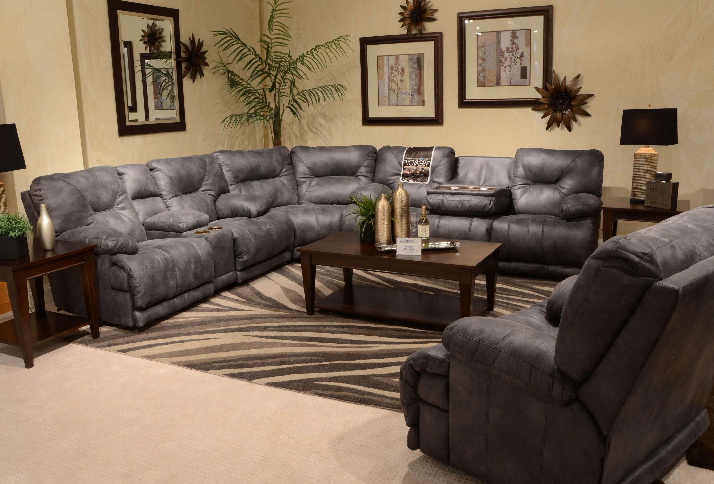 Furniture: Classic And Traditional Style Velvet Sectional Sofa For In Sectional Sofa With Oversized Ottoman (Image 3 of 20)
