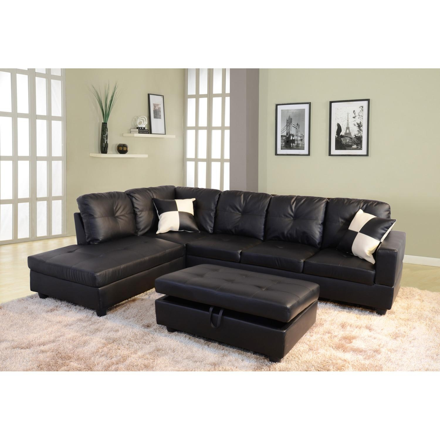 Furniture: Classic And Traditional Style Velvet Sectional Sofa For Within Tufted Sectional Sofa Chaise (Image 4 of 20)