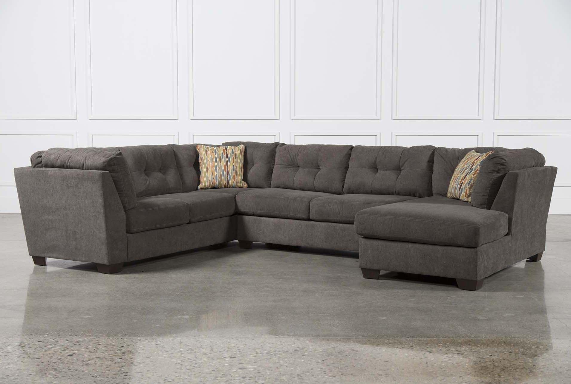 Furniture: Comfortable Deep Seat Sectional For Your Living Room Throughout Deep Seat Leather Sectional (View 11 of 15)