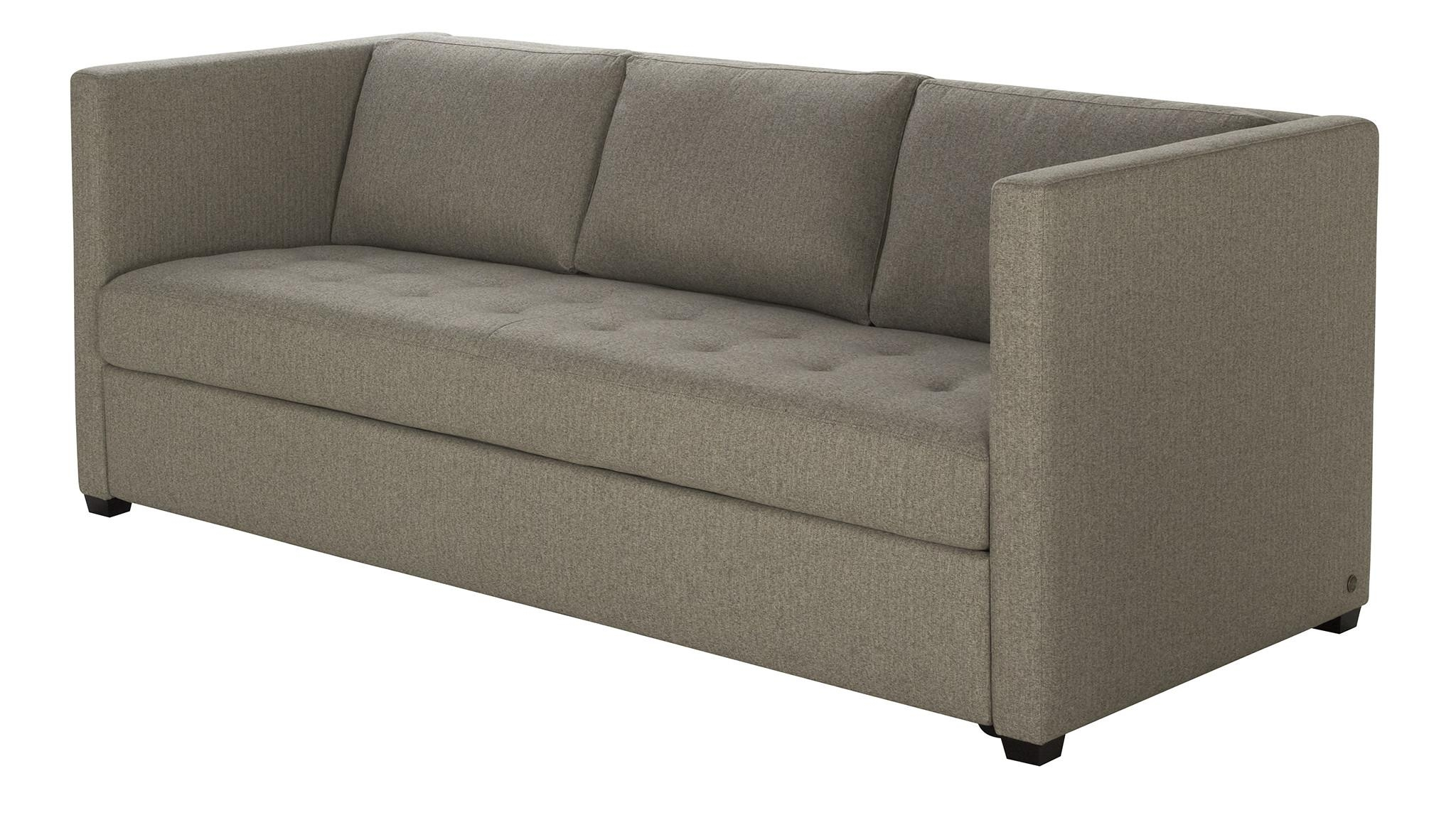 Furniture: Comfortable Tempurpedic Sofa Bed For Cozy Home Pertaining To Crate And Barrel Sleeper Sofas (Image 9 of 20)