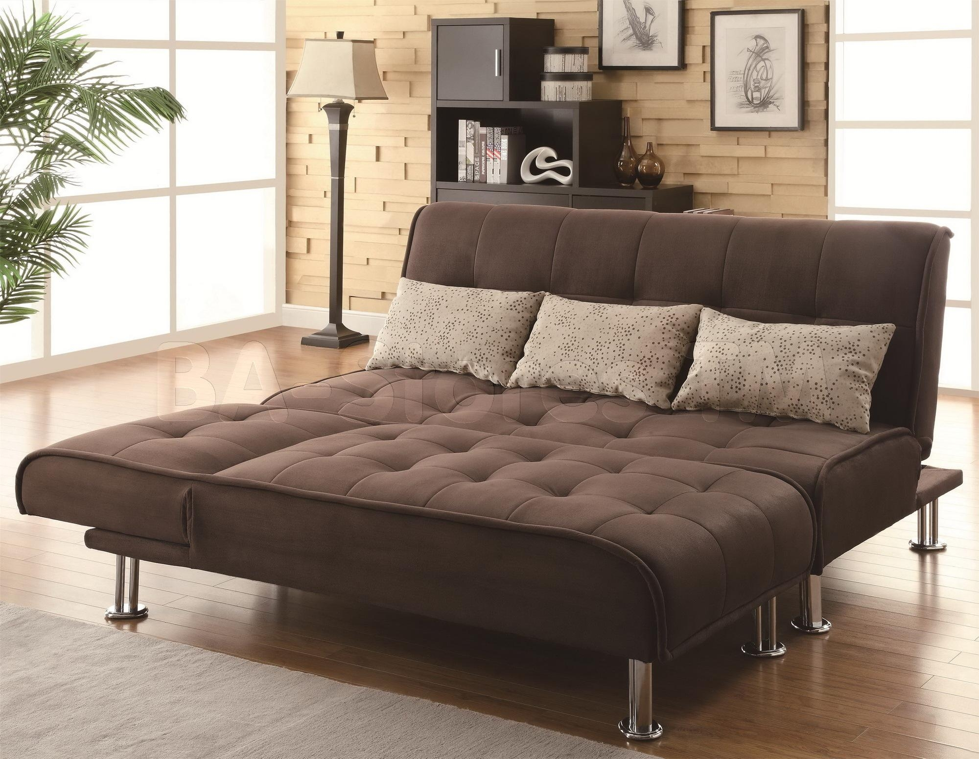Furniture: Comfortable Tempurpedic Sofa Bed For Cozy Living Room In Full Size Sofa Beds (View 7 of 20)