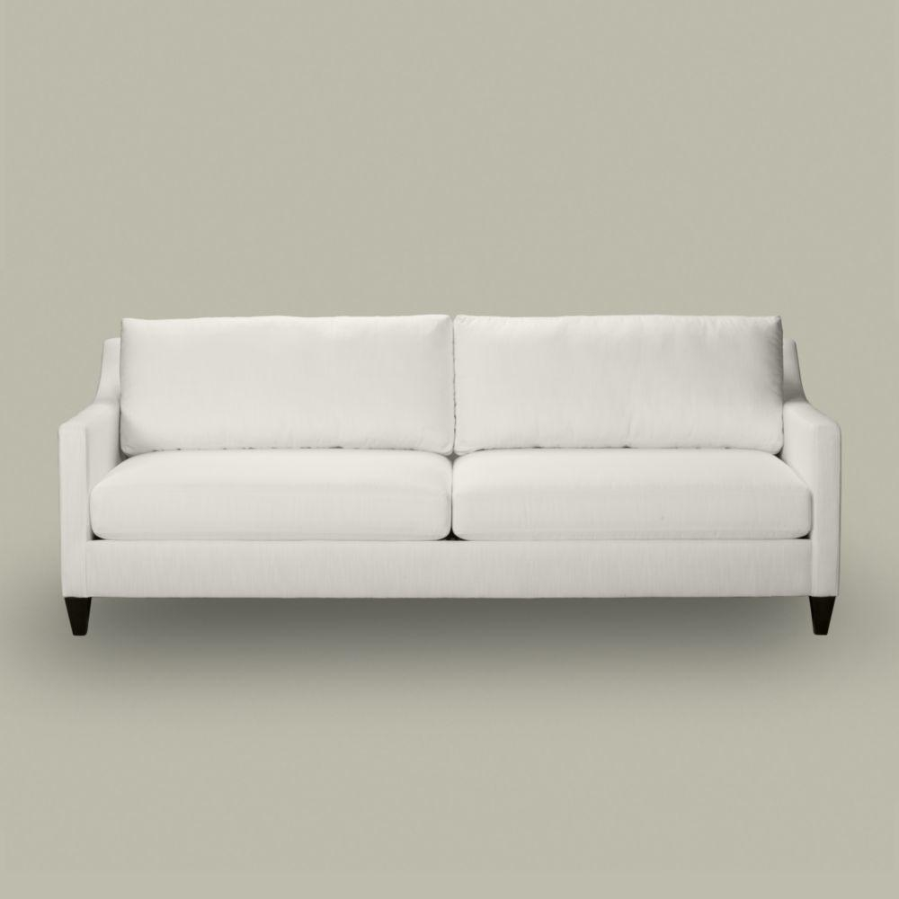 Furniture: Comfortable White Ethan Allen Sectional Sofas With Dark For Allen White Sofas (View 6 of 20)