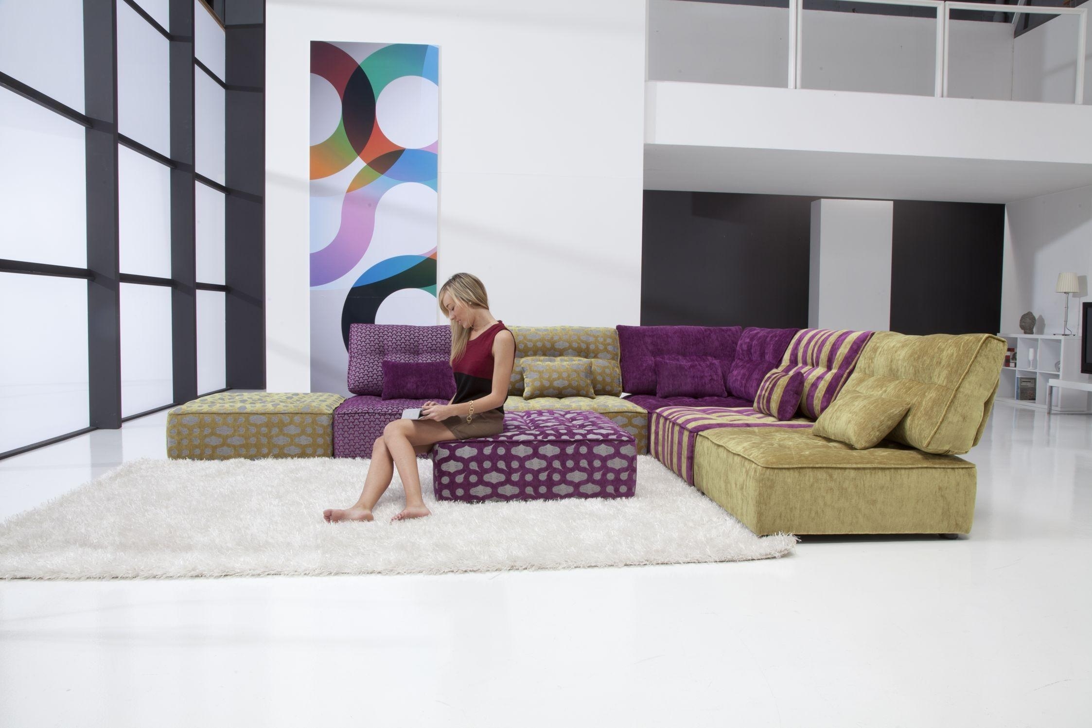 Furniture: Comfy Design Of Oversized Couch For Charming Living In Overstuffed Sofas And Chairs (Image 4 of 20)